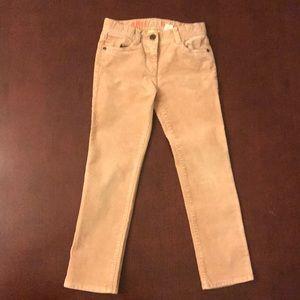 Girls J. Crew Riley Corduroy Jeans Size 6